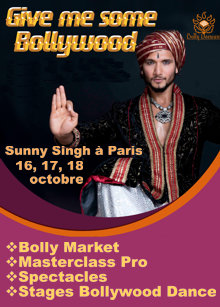 Give Me Some Bollywood de Bolly Deewani avec Sunny Singh
