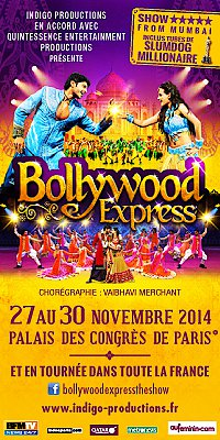 Bollywood Express-2014 - La tournée 2014