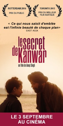Le secret de Kanwar - Sorti le 3 septembre 2014